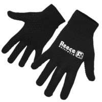 Reece Knitted Player Gloves Black