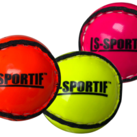 Lee Sports Flourescent Sliotar Orange