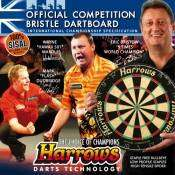 Harrows Official Competition Bristle Dartboard