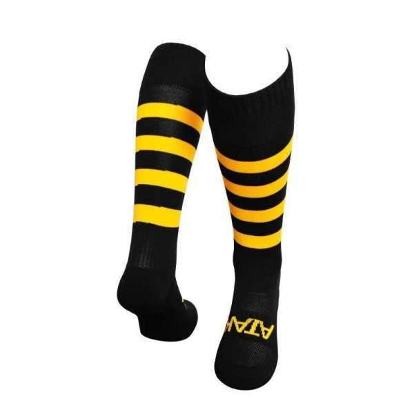 Atak Full Length Sock Black/Amber