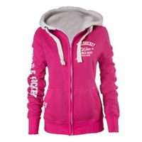 Field & Hockey Full Zip Hoodie Pink