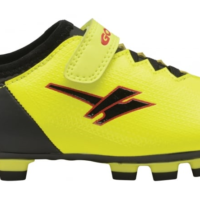 Gola Alpha Blade Velcro Football Boot, Yellow