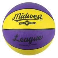 Midwest League Basketball Yellow/Purple