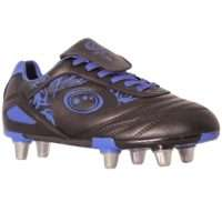 Optimum Razor Rugby Boot Senior Black/Blue
